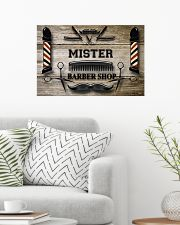 Personalized Barber Shop 24x16 Poster poster-landscape-24x16-lifestyle-01