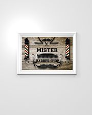Personalized Barber Shop 24x16 Poster poster-landscape-24x16-lifestyle-02