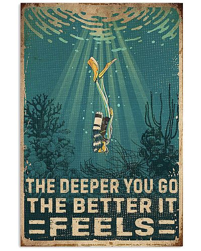 The Deeper You Go Diving