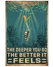 The Deeper You Go Diving 11x17 Poster front