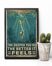 The Deeper You Go Diving 11x17 Poster lifestyle-poster-8