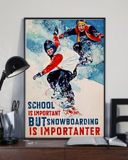 Snowboarding Is Importanter 16x24 Poster lifestyle-poster-2