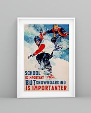 Snowboarding Is Importanter 16x24 Poster lifestyle-poster-5