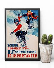 Snowboarding Is Importanter 16x24 Poster lifestyle-poster-8