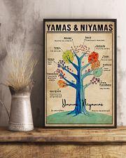 Yamas And Niyamas Raja Yoga 16x24 Poster lifestyle-poster-3