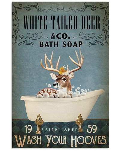 Vintage Bath Soap White-tailed Deer