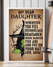 My Dear Daughter Put On Your Hat Witch Mom 16x24 Poster lifestyle-poster-4