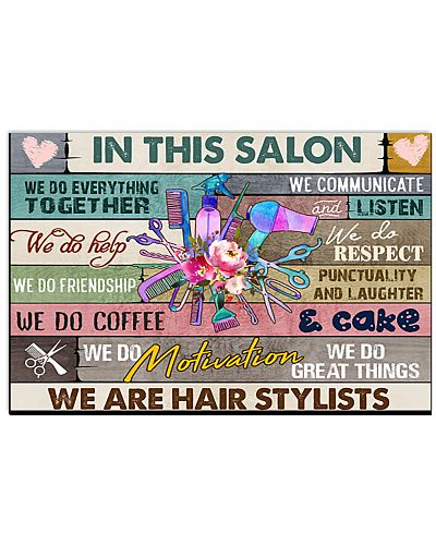 Hair Stylist In This Salon We Do Everything