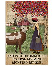 Dictionary Find My Soul Cattle Farm Girl 11x17 Poster front