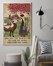 Dictionary Find My Soul Cattle Farm Girl 11x17 Poster lifestyle-poster-1