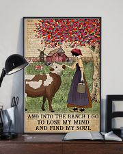 Dictionary Find My Soul Cattle Farm Girl 11x17 Poster lifestyle-poster-2