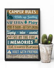 Camping Camper Rules 11x17 Poster lifestyle-poster-8