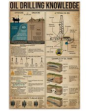 Oil Drilling Knowledge 11x17 Poster front