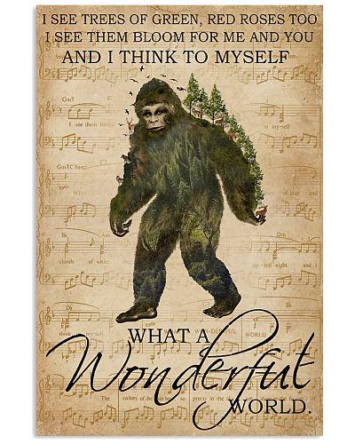 Music Sheet Wonderful World Bigfoot
