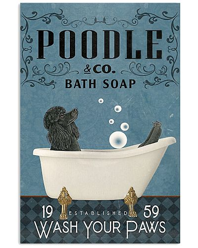 Bath Soap Company Black Poodle