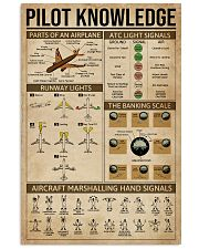 Pilot Knowledge 16x24 Poster front