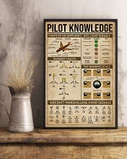 Pilot Knowledge 16x24 Poster lifestyle-poster-3