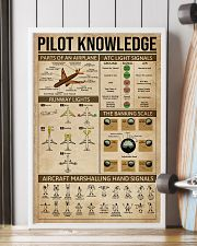 Pilot Knowledge 16x24 Poster lifestyle-poster-4