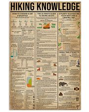 Hiking Knowledge 11x17 Poster front