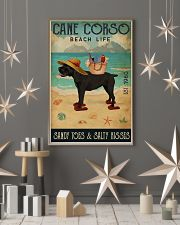 Beach Life Sandy Toes Cane Corso 11x17 Poster lifestyle-holiday-poster-1