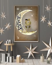 Love You To The Moon And Back Skeleton 11x17 Poster lifestyle-holiday-poster-1