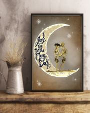 Love You To The Moon And Back Skeleton 11x17 Poster lifestyle-poster-3