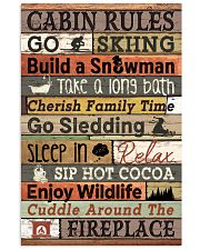 Carbin Rules Skiing  16x24 Poster front