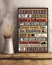 Carbin Rules Skiing  16x24 Poster lifestyle-poster-3