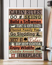 Carbin Rules Skiing  16x24 Poster lifestyle-poster-4