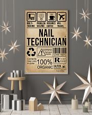 Multitasking Nail Technician 11x17 Poster lifestyle-holiday-poster-1