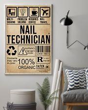 Multitasking Nail Technician 11x17 Poster lifestyle-poster-1