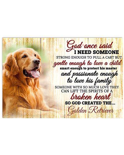 God Once Said Golden Retriever