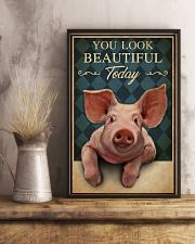 You Look Beautiful Today Pig 16x24 Poster lifestyle-poster-3