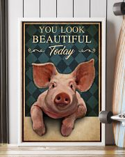 You Look Beautiful Today Pig 16x24 Poster lifestyle-poster-4