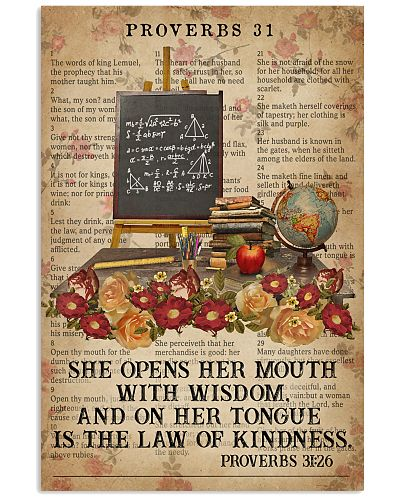 Catchphrase Her Mouth With Wisdom Teaching