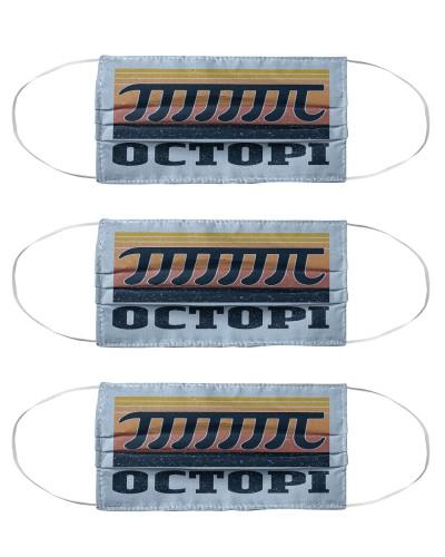 Retro Navy Octopi Math