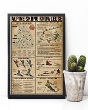 Alpine Skiing Knowledge 11x17 Poster lifestyle-poster-8