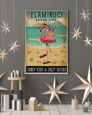 Beach Life Sandy Toes Flamingo 16x24 Poster lifestyle-holiday-poster-1