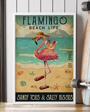Beach Life Sandy Toes Flamingo 16x24 Poster lifestyle-poster-4