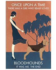 Vintage Girl Once Upon A Time Bloodhound 11x17 Poster front