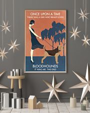 Vintage Girl Once Upon A Time Bloodhound 11x17 Poster lifestyle-holiday-poster-1