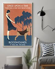 Vintage Girl Once Upon A Time Bloodhound 11x17 Poster lifestyle-poster-1