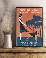 Vintage Girl Once Upon A Time Bloodhound 11x17 Poster lifestyle-poster-3