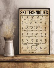 Skiing Techniques 11x17 Poster lifestyle-poster-3