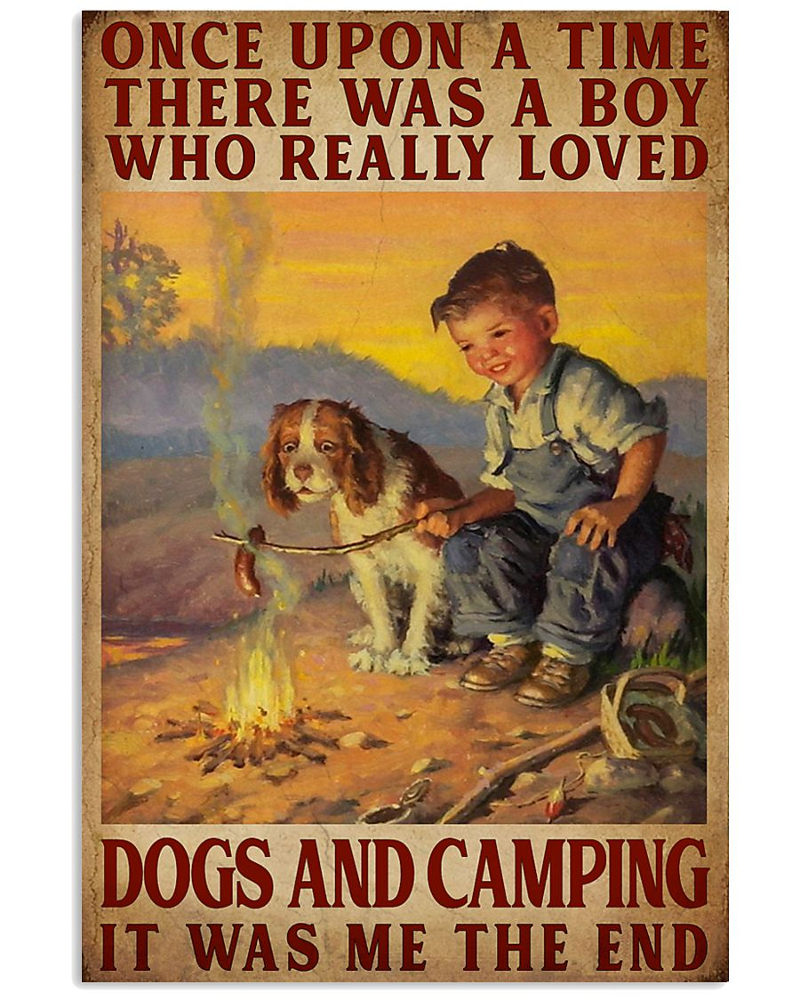And They Lived Happily Ever After Camping 16x24 Poster