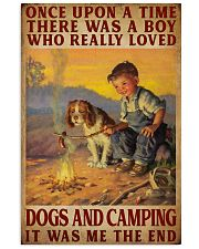 And They Lived Happily Ever After Camping 16x24 Poster front