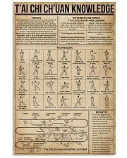 T'ai Chi Ch'uan Knowledge 11x17 Poster front