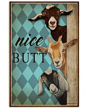 Nice Butt Goat Mint 16x24 Poster front