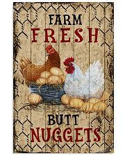 Chicken Farm Fresh Butt Nuggets 16x24 Poster front