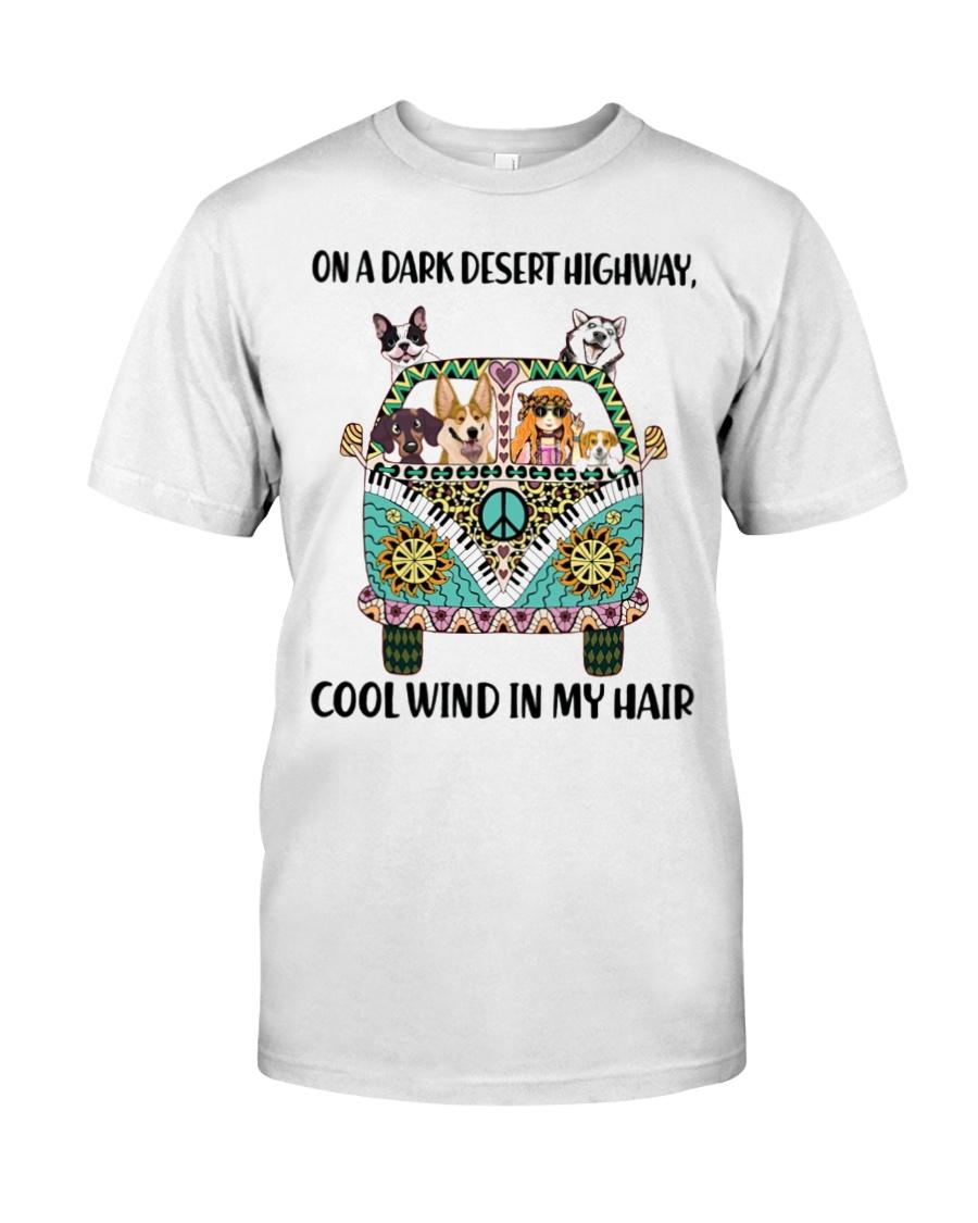 Dark desert highway Classic T-Shirt